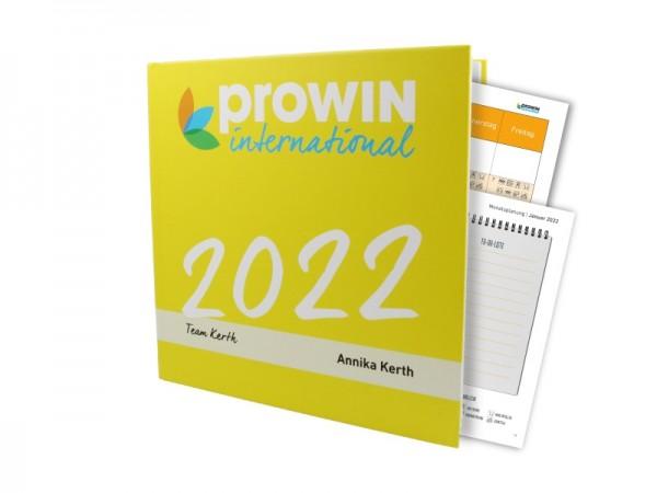 proWIN Jahresplaner mit Namen & Teamnamen